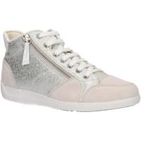 Scarpe Donna Sneakers alte Geox D6468C 0KY22 D MYRIA Plateado