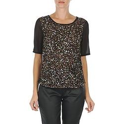 Abbigliamento Donna T-shirt maniche corte Vero Moda IXUS Nero
