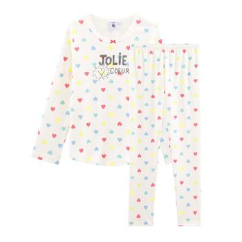 Abbigliamento Bambina Pigiami / camicie da notte Petit Bateau FIONA Multicolore