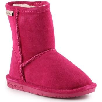 Scarpe Bambina Stivali da neve Bearpaw Emma Toddler Zipper 608TZ-671 Pom Berry pink