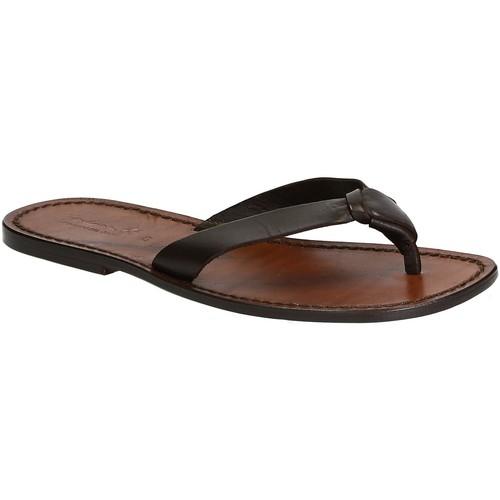scarpe da corsa spedizione gratuita ultimo design Gianluca - L'artigiano Del Cuoio Infradito uomo in pelle fatti a ...