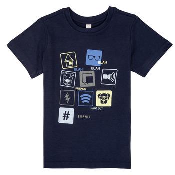 Abbigliamento Bambino T-shirt maniche corte Esprit ENZIEO Marine