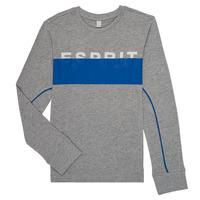 Abbigliamento Bambino T-shirts a maniche lunghe Esprit FABIOLA Grigio