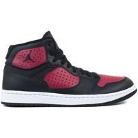 Scarpe Uomo Pallacanestro Nike Jordan Access Nero, Rosso