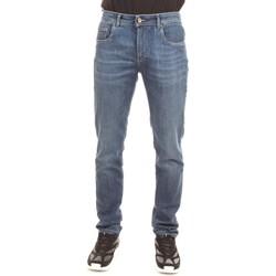 Abbigliamento Uomo Jeans dritti Camouflage D00 A320 Blu