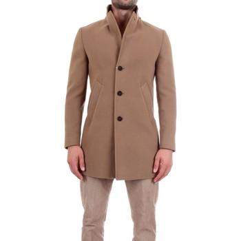 Abbigliamento Uomo Cappotti Manuel Ritz 2732C4448 193727 Cappotto Uomo Cammello Cammello