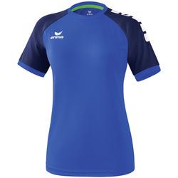Abbigliamento Donna T-shirt maniche corte Erima Maillot femme  Zenari 3.0 bleu/bleu/vert clair