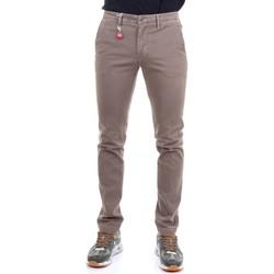 Abbigliamento Uomo Chino Manuel Ritz 2732P1578T 193816 Pantaloni Uomo Beige e nero Beige e nero