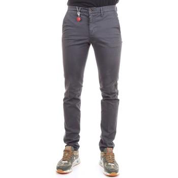 Abbigliamento Uomo Chino Manuel Ritz 2732P1578T 193811 Pantaloni Uomo Grigio Grigio