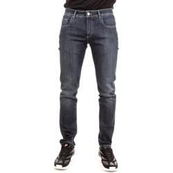 Abbigliamento Uomo Jeans slim Camouflage D00 A154 Blu