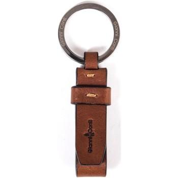 Accessori Uomo Portachiavi Gianni Conti 919756 Cognac