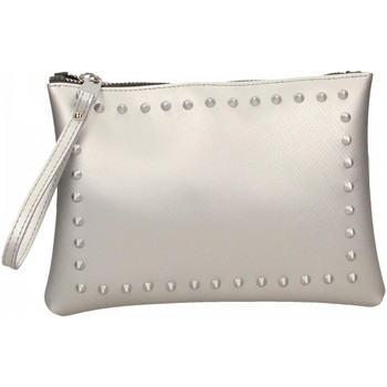 Borse Donna Pochette / Borselli Gum SATIN STUDS 359-argento