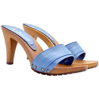 Scarpe Donna Zoccoli Kiara Shoes K6301 Bluetto