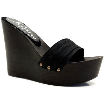 Scarpe Donna Ciabatte Kiara Shoes KZ3501 Nero