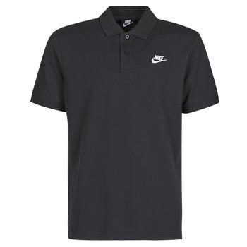 Abbigliamento Uomo Polo maniche corte Nike M NSW CE POLO MATCHUP PQ Nero / Bianco