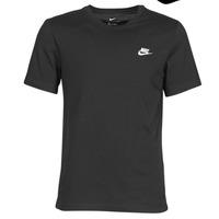 Abbigliamento Uomo T-shirt maniche corte Nike M NSW CLUB TEE Nero / Bianco