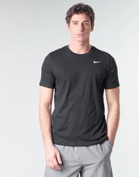 Abbigliamento Uomo T-shirt maniche corte Nike M NK DRY TEE DFC CREW SOLID Nero / Bianco