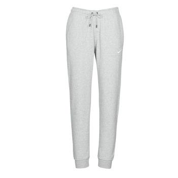 Abbigliamento Donna Pantaloni da tuta Nike W NSW ESSNTL PANT REG FLC Grigio / Bianco