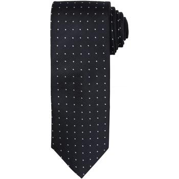 Abbigliamento Uomo Cravatte e accessori Premier Dot Pattern Nero/Grigio scuro