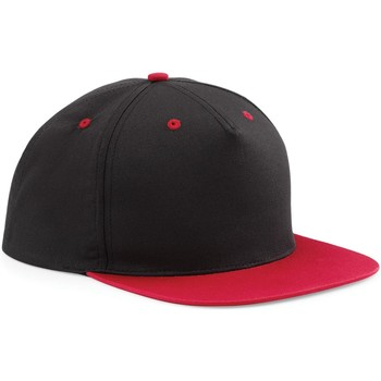 Accessori Cappellini Beechfield B610C Nero/Rosso