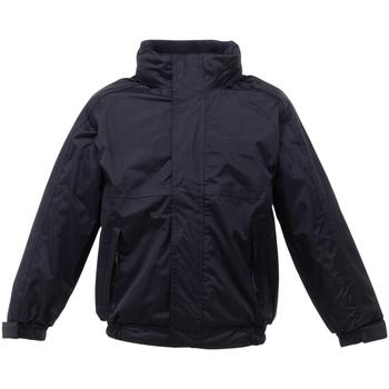 Abbigliamento Unisex bambino giacca a vento Regatta Dover Nero/Cenere