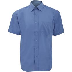 Abbigliamento Uomo Camicie maniche corte Russell 935M Corporate Blue