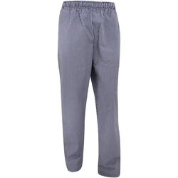 Abbigliamento Pantaloni da tuta Dennys White Check Blu navy/Bianco