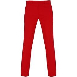 Abbigliamento Donna Chino Asquith & Fox Chino Rosso Ciliegia