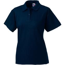 Abbigliamento Donna Polo maniche corte Jerzees Colours 539F Blu scuro