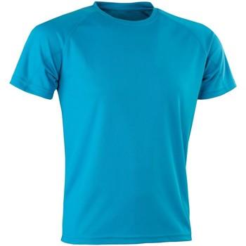 Abbigliamento Uomo T-shirt maniche corte Spiro Aircool Blu oceano