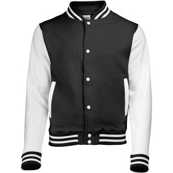 Abbigliamento Unisex bambino Giubbotti Awdis JH43J Nero/Bianco