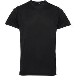 Abbigliamento Uomo T-shirt maniche corte Tridri TR010 Nero