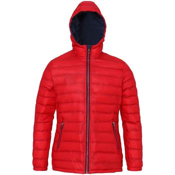 Abbigliamento Donna Piumini 2786 TS16F Rosso/Blu