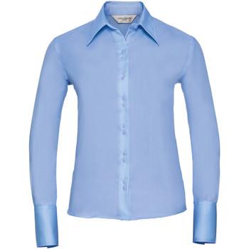 Abbigliamento Donna Camicie Russell Ultimate Cielo chiaro