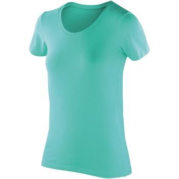 Abbigliamento Donna T-shirt maniche corte Spiro SR280F Menta