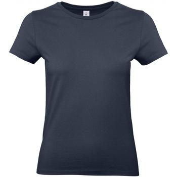 Abbigliamento Donna T-shirt maniche corte B And C E190 Blu navy