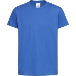 Abbigliamento Unisex bambino T-shirt maniche corte Stedman  Blu reale acceso