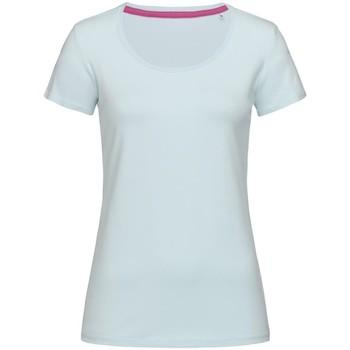 Abbigliamento Donna T-shirt maniche corte Stedman Stars  Azzurro