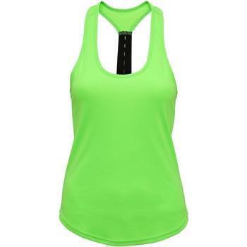 Abbigliamento Donna Top / T-shirt senza maniche Tridri TR027 Verde chiaro
