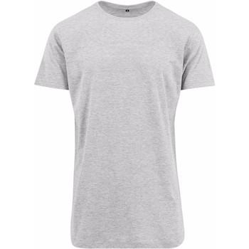 Abbigliamento Uomo T-shirt maniche corte Build Your Brand Shaped Grigio screziato