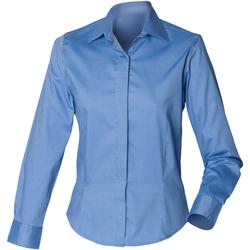 Abbigliamento Donna Camicie Henbury HB551 Corporate Blue
