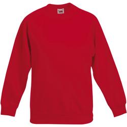 Abbigliamento Unisex bambino Felpe Fruit Of The Loom 62039 Rosso