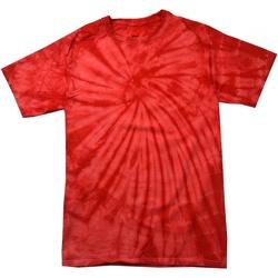Abbigliamento Unisex bambino T-shirt maniche corte Colortone Spider Rosso