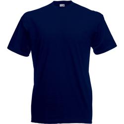 Abbigliamento Uomo T-shirt maniche corte Universal Textiles 61036 Blu notte