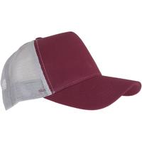 Accessori Cappellini Beechfield Trucker Bordeaux/Grigio chiaro