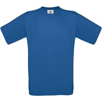 Abbigliamento Uomo T-shirt maniche corte B And C TU004 Blu reale