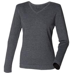 Abbigliamento Donna Maglioni Henbury HB721 Grigio