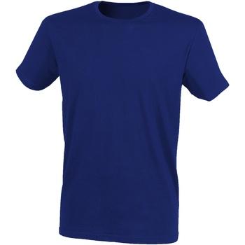 Abbigliamento Uomo T-shirt maniche corte Skinni Fit SF121 Blu Navy Melange