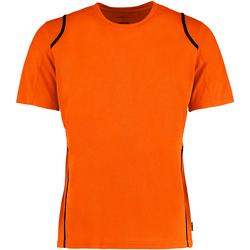 Abbigliamento Uomo T-shirt maniche corte Gamegear Cooltex Arancione Fluo/Nero