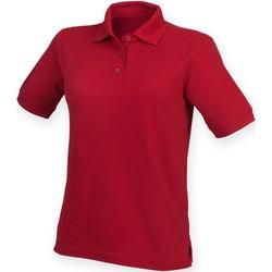 Abbigliamento Donna Polo maniche corte Henbury HB401 Rosso Vintage